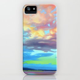 Sky Opus by Amanda Martinson iPhone Case