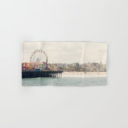 Santa Monica Pier. Happy Birthday Pacific Park!  Hand & Bath Towel