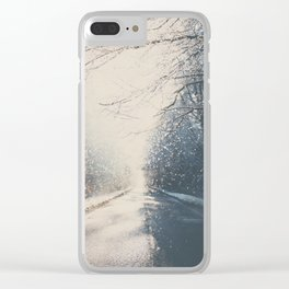 driving home for Christmas ... Clear iPhone Case