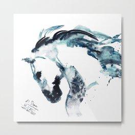 Horse (New Storm) Metal Print