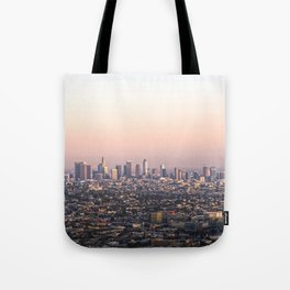 Los Angeles Sunset Tote Bag