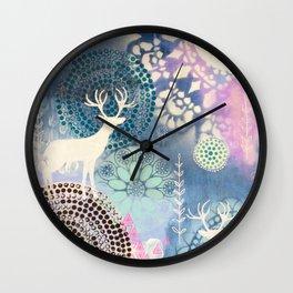 Magical Worlds Wall Clock