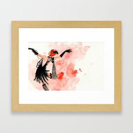 Holiday Mood Framed Art Print