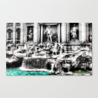 mythology Canvas Prints featuring Mythology by 2sweet4words Designs