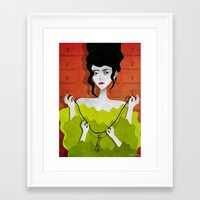 key Framed Art Prints featuring Key by Phantasmagoria
