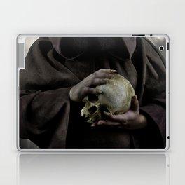 Holding a male skull Laptop & iPad Skin