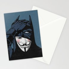 V for Bat Stationery Cards