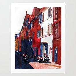 Rome buildings Art Print