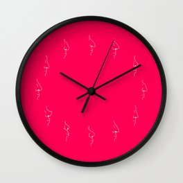 Smelly #1 Wall Clock