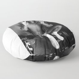 Boxing Legend - Cassius Marcellus Clay Jr - BLM - Black - Power - Muhammad - The Greatest - Ali Floor Pillow