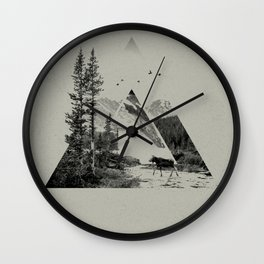 Natural Shapes Wall Clock