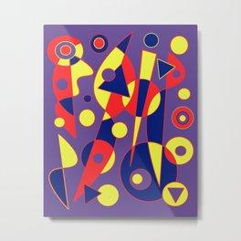 Abstract #993 Metal Print