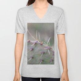 Texas Cactus Unisex V-Neck