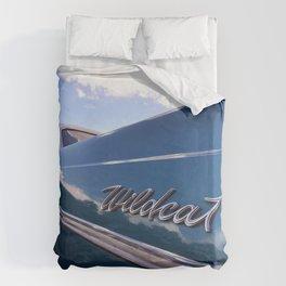 Wildcat - Classic American Blue Car Duvet Cover