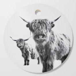 HIGHLAND COW - LULU & SARA Cutting Board