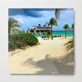 Castaway Cay - DCL Metal Print