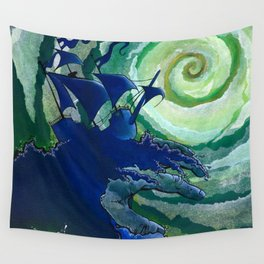 Rage Against Poseidon Wall Tapestry