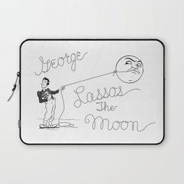 It's a Wonderful Life - George Lassos the Moon Laptop Sleeve
