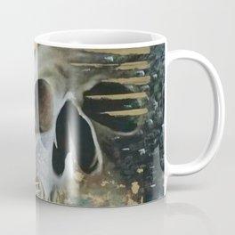 GEOMETRIC SKULL HEAT Coffee Mug