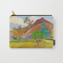 Tahitian Landscape by Paul Gauguin Carry-All Pouch