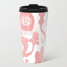 Morning ritual textured print pattern Travel Mug