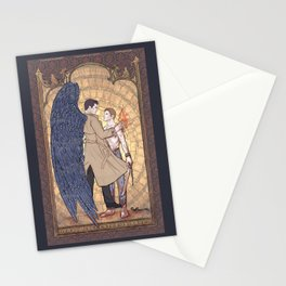 Angelic Intervention (Dean Winchester is Saved) Stationery Cards
