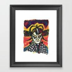 Kabuki Fever Framed Art Print