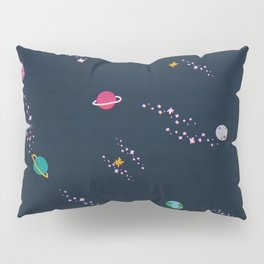 Lost in Space Pattern Pillow Sham