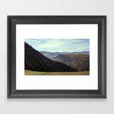 Top of the gondola Framed Art Print