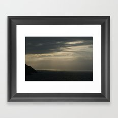 DIVINA CALMA Framed Art Print
