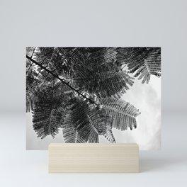 Delicate leaves Mini Art Print
