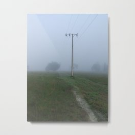 Fogg in Penola Metal Print