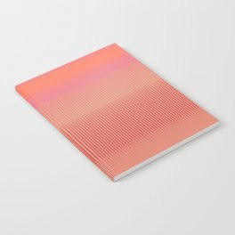 Sunset | Modern Abstract Colorful Pattern Notebook