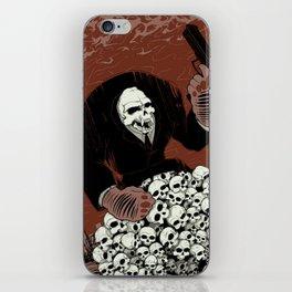 Monkey Skull Suit iPhone Skin