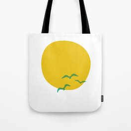 Midsummer Sun Tote Bag