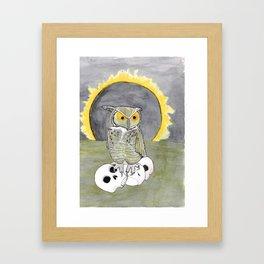 A Fellow of Infinite Jest Framed Art Print