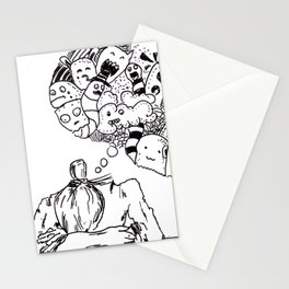 Sketch 56 - Overthinking Stationery Cards