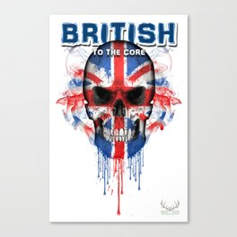 To The Core Collection: UK Canvas Print