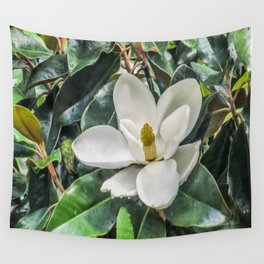 Soft Magnolia Wall Tapestry