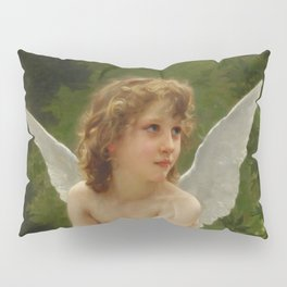 """William-Adolphe Bouguereau """"Love on the Look Out"""" Pillow Sham"""