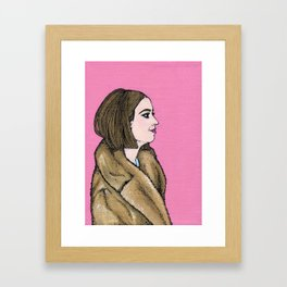 Margot Tenenbaum Framed Art Print