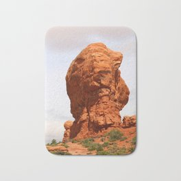 An Unique Rockformation Bath Mat