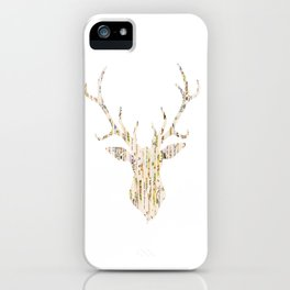 Upcycled Reindeer iPhone Case