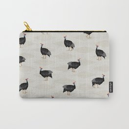 Guinea fowl bird pattern Carry-All Pouch