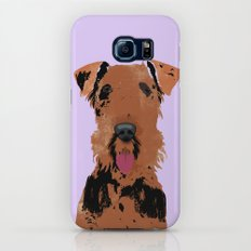 Airedale Terrier Dog Galaxy S7 Slim Case