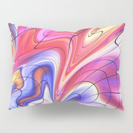 Dripping in Time Pillow Sham