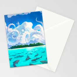 Dangerous Waters Stationery Cards