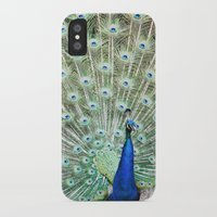 peacock iPhone & iPod Cases featuring Peacock by Kakel-photography