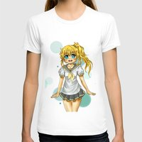 vocaloid T-shirts featuring Lenka (fanart) by jannaj