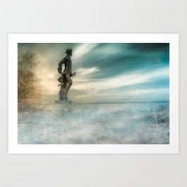 Dreams about sea Art Print